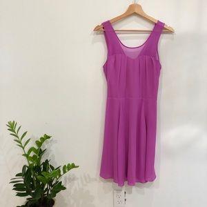EXPRESS pink/lilac mini dress